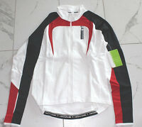 Cannondale White Red Mezzo Jersey Womens Sz Large Msrp $95