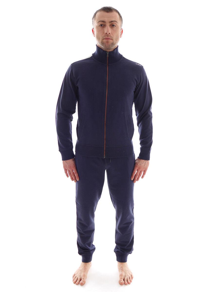 CMP Tuta per tuttienauominito Tuta per Jogging blu Homewear Sudore