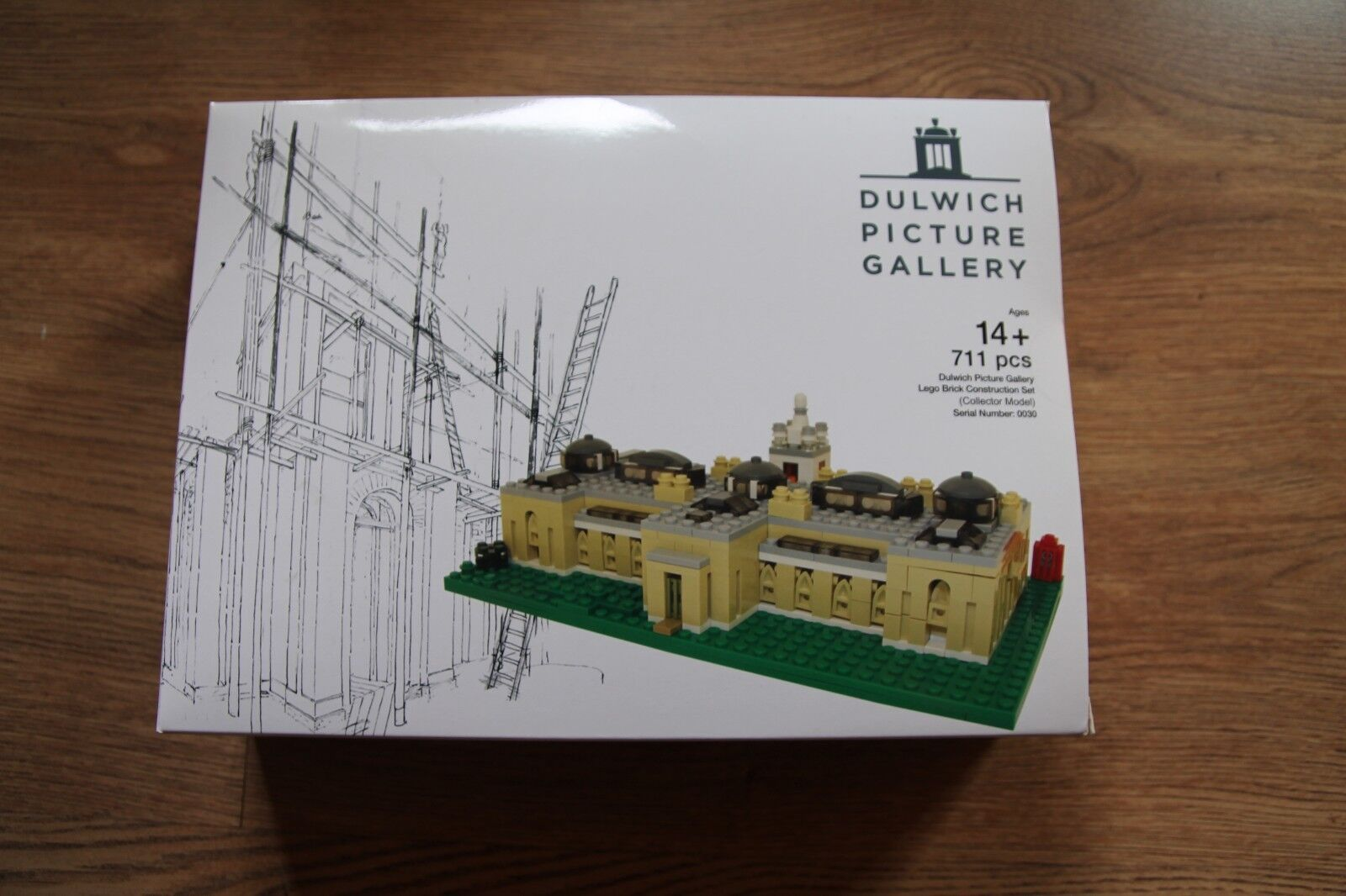 Lego Dulwich Picture Gallery, Ltd Edition, NEW, Comme neuf, SEALED.