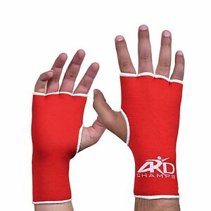 Ard Boxing Fist Inner Gloves Hand Wraps Muay Thai Boxing Martial Arts Red