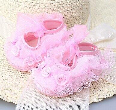 Pink shoe lace doll toddler reborn baby