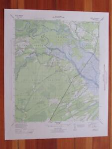 Details about South Santee South Carolina 1944 Original Vintage USGS Topo  Map
