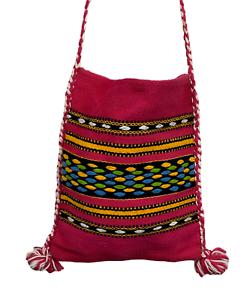 Handmade Boho Peruvian colorful shoulder pursebag
