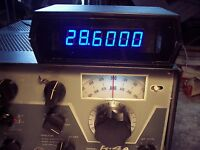 Drake R-4a Frequency Counter Kit, You Build It, Ac/dc Use 12.6 Ac From Drake