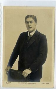 Gi336-376-Real-Photo-of-Theatre-Star-George-Alexander-1906-VG-Beagles-219c