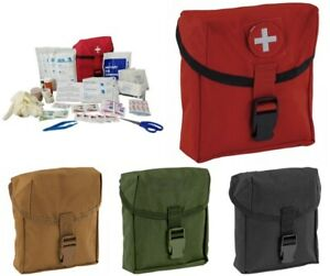 ELITE FIRST AID New First Platoon STOCKED Kit MOLLE Tactical EDC Multiple Colors