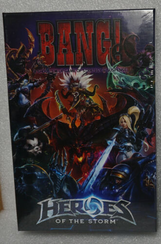 BANG! Heroes of the Storm USAopoly & Blizzard