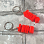 Netball-Keychain-Keyring-Personalised-3D-Printed-Party-Bag-Fillers thumbnail 3