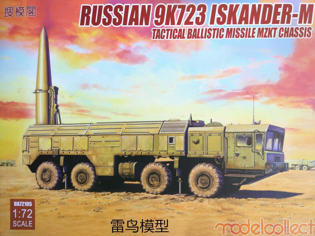 modellllerlersamla 1  72 Kits Russian 9K728 ISKANDER - M Tact.bollistisk missil U72105