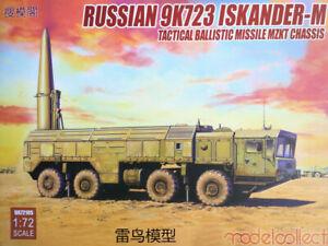 Modelcollect 1/72 Kits Russian 9K728 ISKANDER-M Tact. Ballistic Missile UA72105