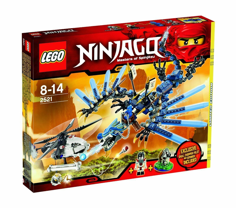 LEGO ® Ninjago 2521  drago del flash  da collezione collector 2011 RAR Nuovo/Scatola Originale