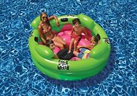 Inflatable Pool Raft Rocker Fun Water Seat Headrest Toys Kids Play Outdoor Float on sale