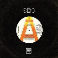 "JOHN HALL Home At Last 7"" Single Vinyl Record 45rpm Promo CBS 1979 EX"