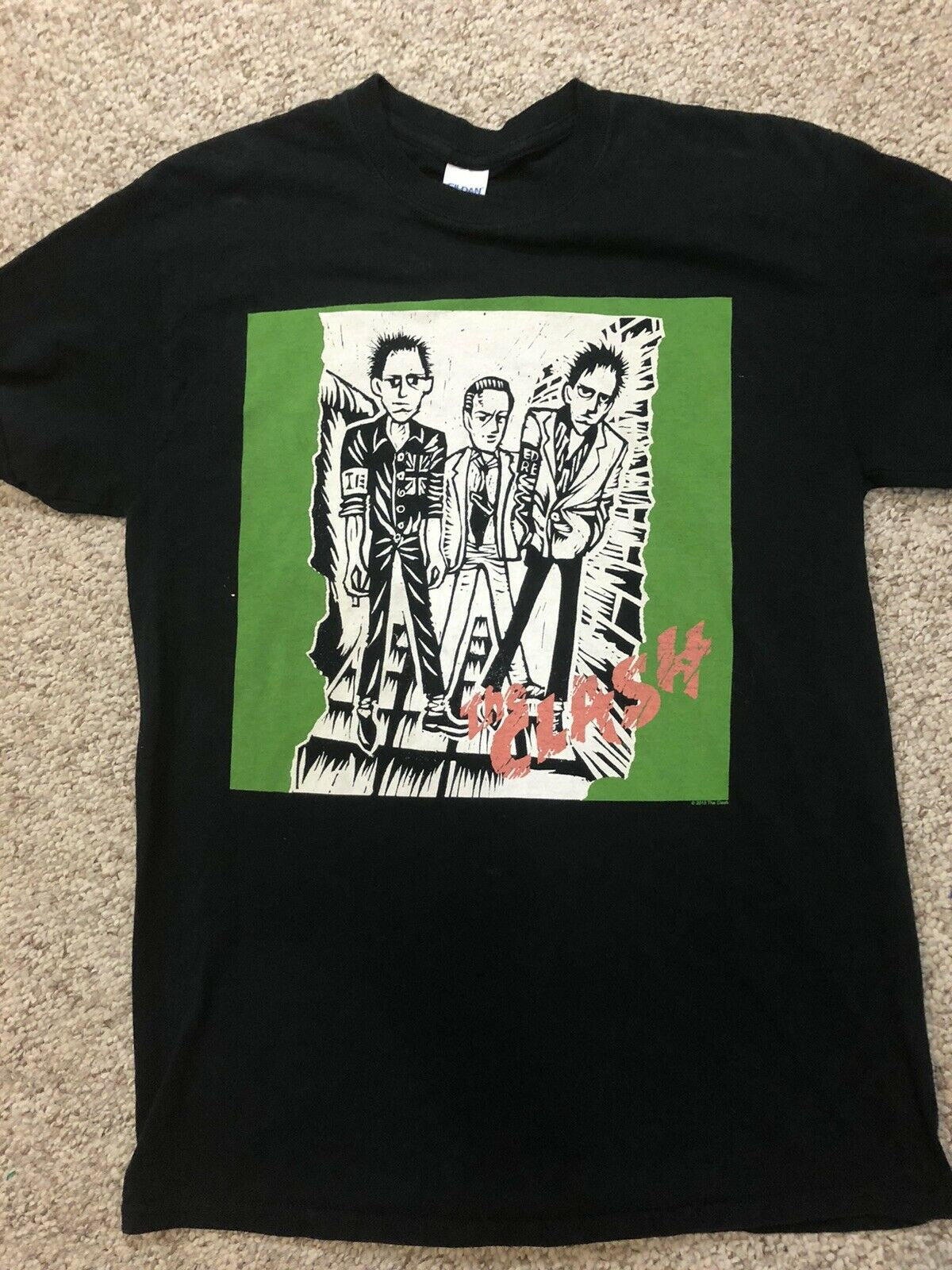 The Clash Concert Tour Rock Band T Shirt Black 20… - image 6