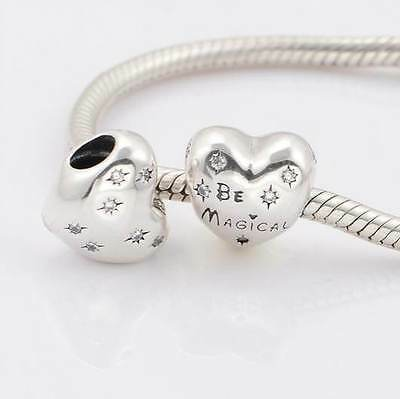 Authentic Sterling Silver European Charm Pendants Choose 1