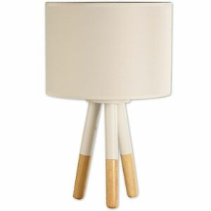 Light Accents Tripod Table Lamp Wood And Metal Stockholm