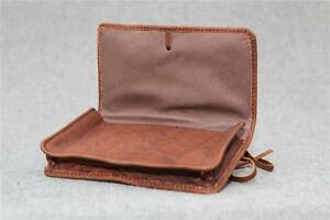 Handmade-Buffalo-Leather-Tobacco-Pouch-TP-L-Wallet-50g-string-Billy-Goat-Designs