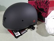 Speed Half Helmet Speed and Strength SS200 Matte Black XL extra large 877767