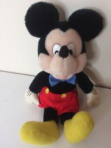 VINTAGE-APPLAUSI-TOPOLINO-giocattolo-morbido-peluche-Disney
