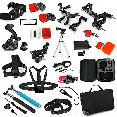 Chest Head Tripod Floaty Roll Cage Mount Accessories For GoPro Hero 6 5 4 3+ 3 2