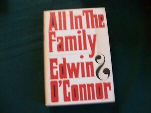 All-In-The-Family-by-Edwin-O-039-Connor-1966-HCDJ-book-club
