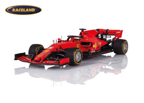 Looksmart 1:43 Ferrari SF90 Scuderia GP China 2019 1000 F1 GP Sebastian Vettel