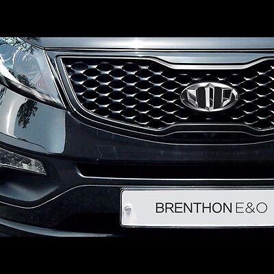 QL Front Rear Steering Wheel Brenthon Emblem 3p 1Set For 2017 Kia Sportage