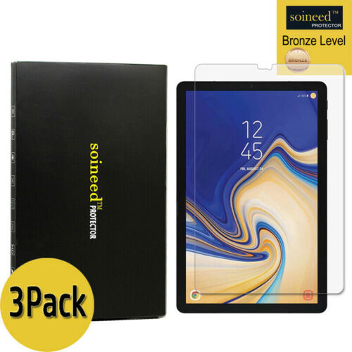 """3-Pack For Samsung Galaxy Tab S4 10.5/"""" T830 T837 Tempered Glass Screen Protector"""