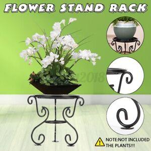 Metal-Flower-Stand-Plant-Rack-Shelf-Balcony-Indoor-Outdoor-Floor-Pot-Display