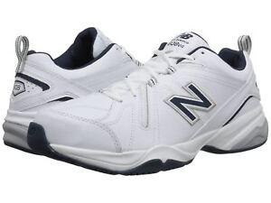 New-Balance-MX608V4W-White-Navy-Leather-Men-039-s-Training-Shoes