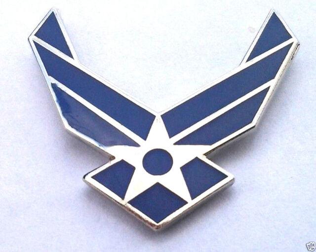 *** AIR FORCE LOGO II WINGS *** Military Veteran Hat Pin 14211 HO