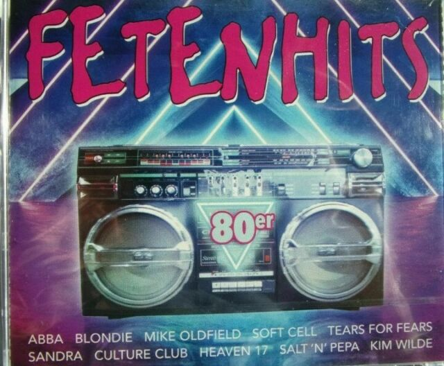 FETENHITS-80er - 3 CD [NEU/OVP]