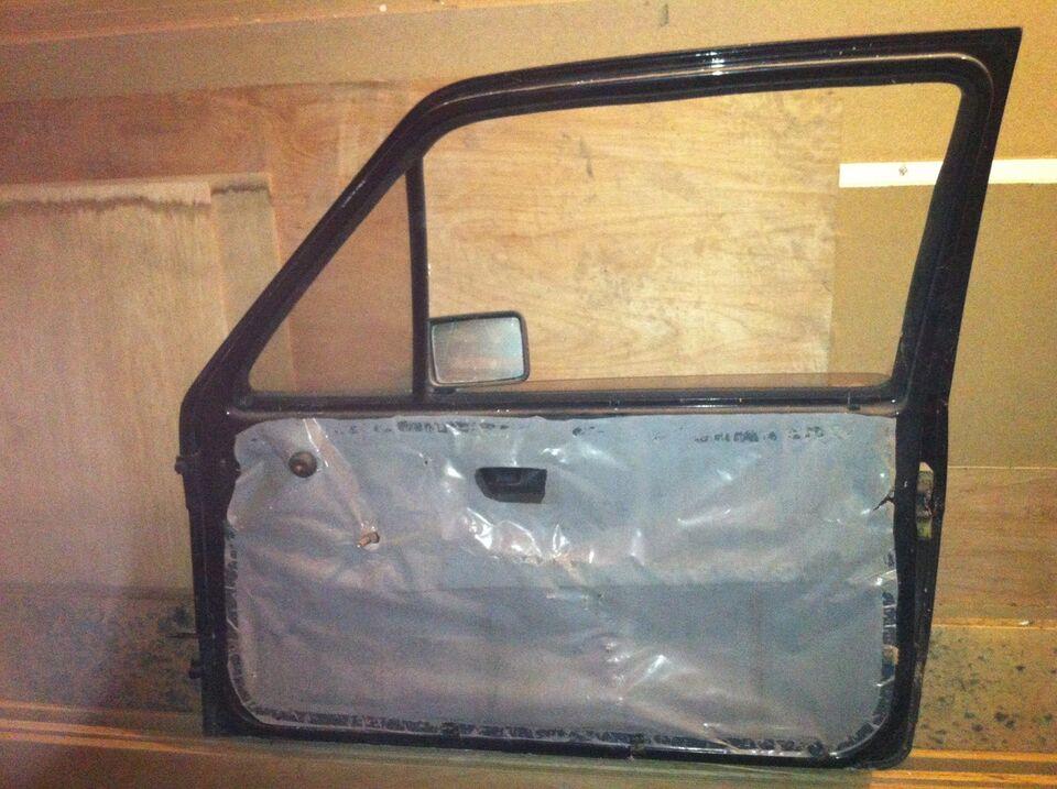 Plade- og karosseridele, dør, VW Golf 2