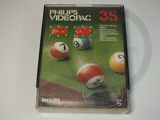 PHILIPS G7000 GIOCO Videopac 35 Biliardo conf. orig., usato ma BENE
