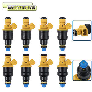 Details about 8X Fuel Injectors 0280150718 For Ford F150 F250 F350  1993-2003 5 0 5 8 4 6 5 4L