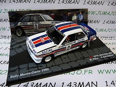voiture 1/43 IXO altaya ITALIE Rallye MONTE CARLO 1982 : OPEL ASCONA 400 Röhrl