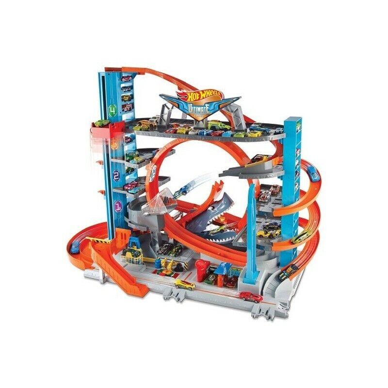 Garage delle acrobazie Hot Wheels Mattel FTB69