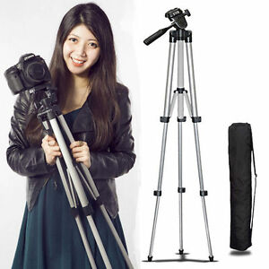 Pro-Camera-Lightweight-Tripod-Stand-For-Nikon-D5600-D3400-D750-D7200-Canon-Sony