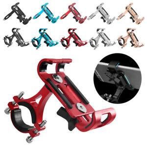 Aluminum-Motorcycle-Bike-Bicycle-GPS-Cell-Phone-Holder-Handlebar-Mount-Universal