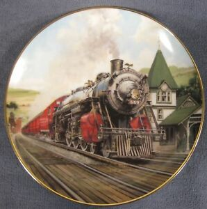 Great American Trains The alton Limited Collectors Plate.