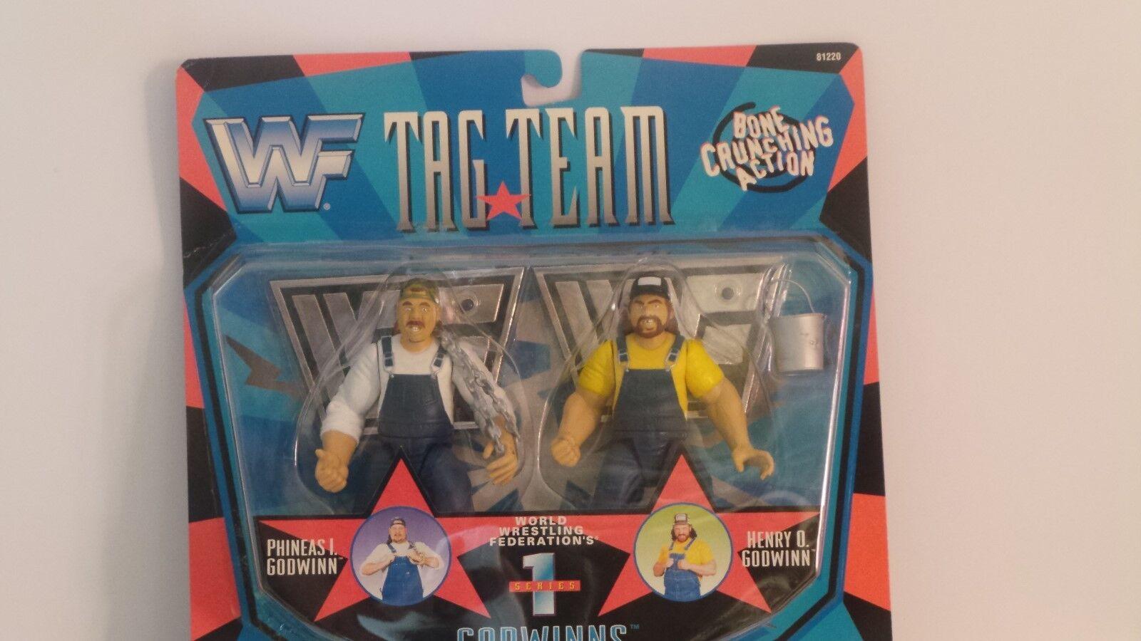 WWF TAG TEAM PHINEAS I GODWINN,HENRY O. GODWINN(006)