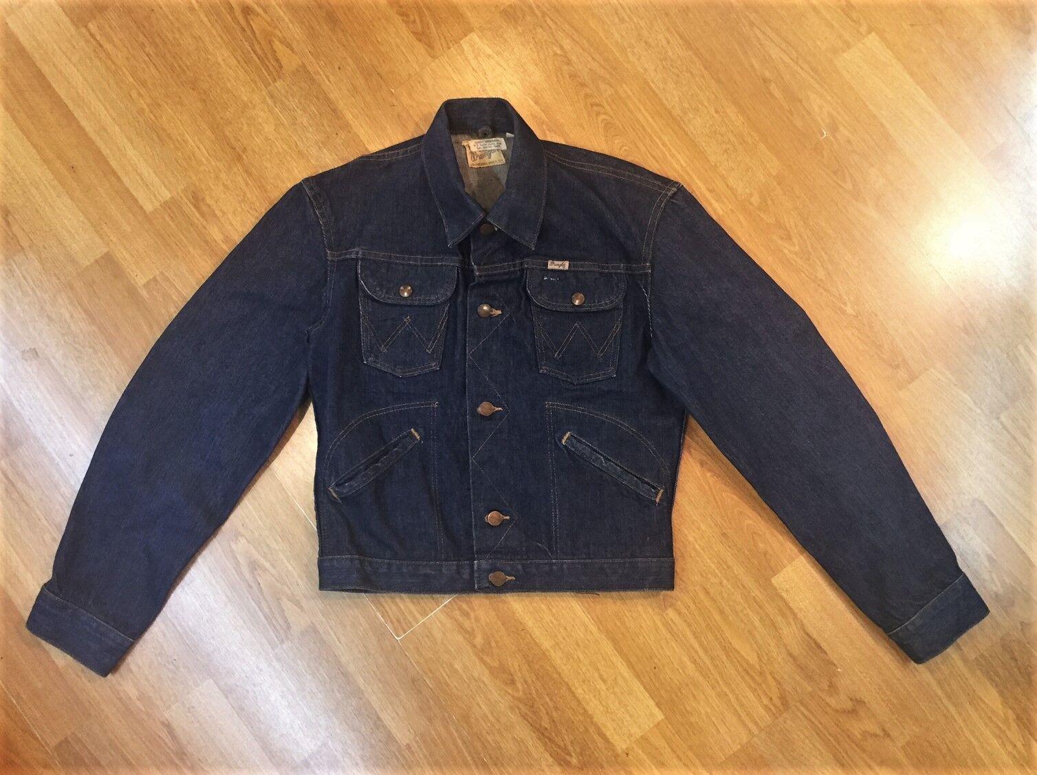 Rare Vintage Wrangler Denim Jacket - 50's/60's - … - image 6