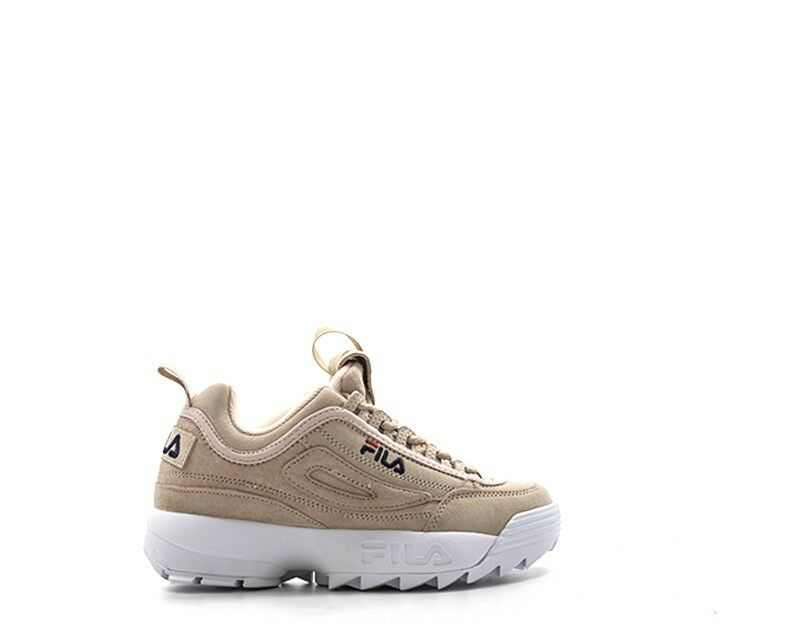 shoes FILA Woman Sneakers PINK Leather natural 1010423-70R