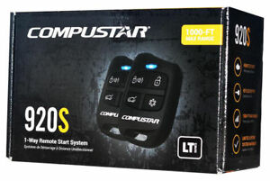 Compustar CS920-S Remote Start and Keyless Entry System with 1000-ft Range 1-way