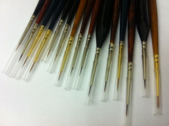Miniature Model Painting Brushes for Warhammer Wargamer Foundry Army Painter etc