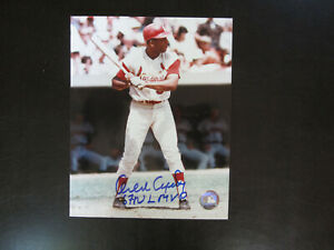 Orlando-Cepeda-Autograph-Signed-8-X-10-photo-St-Louis-Cardinals-67-MVP