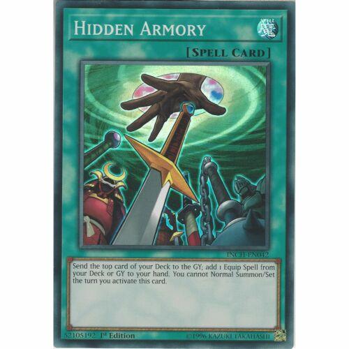 1st Edition INCH-EN042 Yu-Gi-Oh TCG: Hidden Armory Super Rare Card