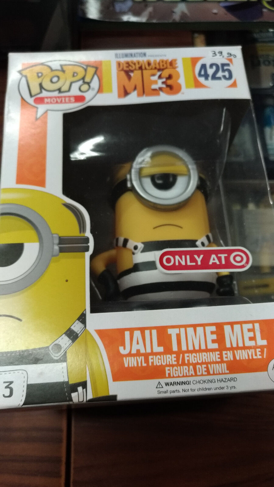 FUNKO - DESPICABLE ME 3 Jail Time Mel ONLY AT TARGET Exclusive NEW RARE