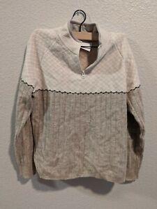 Woolrich-Womens-Size-Medium-Sweater-Lambs-Wool