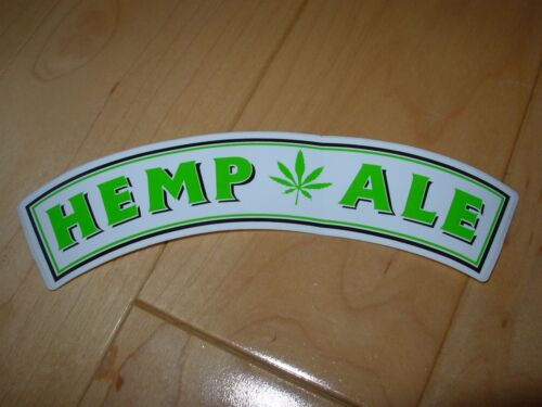 HUMBOLDT BREWING CO Hemp Ale Sticker decal craft beer brewery brewing